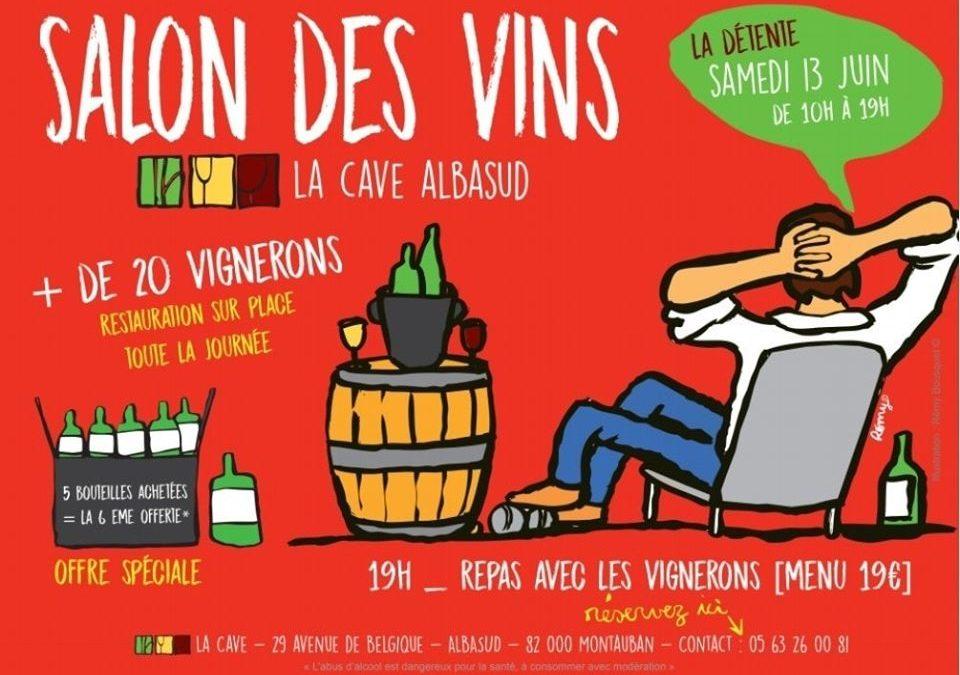 Sur les chemins du vin, à Montauban