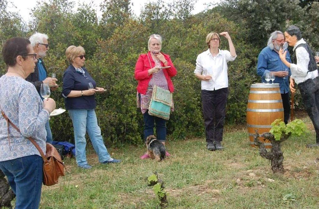 Florence Monferran, la viticultrice qui parle à sa vigne! par Pierre Mamier